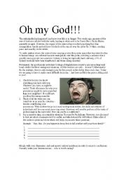 English Worksheets: Group Survivor Activity: Asteroid/Zombie Armageddon!