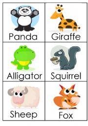 English Worksheets: Animals (3)