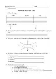 English Worksheets: Mechanic�s worksheet