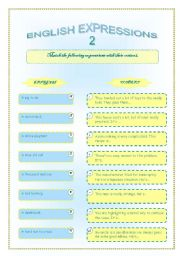 English expressions 2