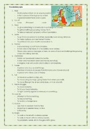 English Worksheet: Vikings quiz