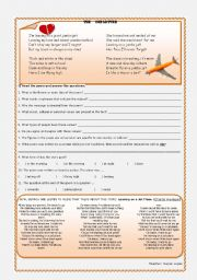 English Worksheets: The Departure