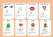 English Worksheets: General Vocabulary - Go fish 3/3