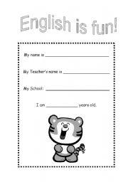 English Worksheets: English is fun BW version