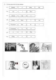 English Worksheets: Answers to know someone