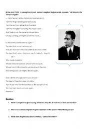 English teaching worksheets: Poems
