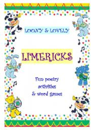 English Worksheet: LIMERICKS - A WS COLLECTION
