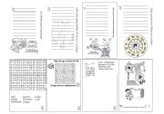 English Worksheet: Chinese New Year Mini Booklet