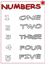 math worksheet : esl kids worksheets colour the numbers 1 5  : Numbers 1 5 Worksheets For Kindergarten