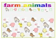 English Worksheets: Farm animals- How many can you see?