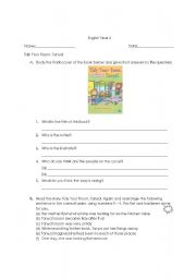 English Worksheets: Tidy Your Room, Tanya!