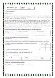 9th form mid-term test