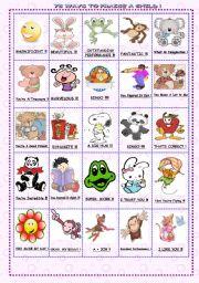 English Worksheet: 75 WAYS TO PRAISE A CHILD. 3/3