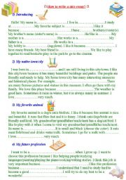 How to write a nice essay? Four sample essays for the young learners.