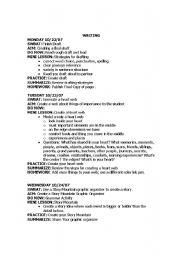 English Worksheets: Writing a Final Draft