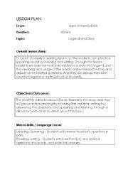 English Worksheets: Atlantis