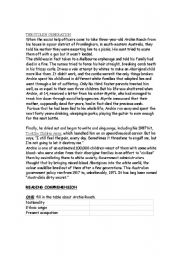 English Worksheets: the stolen generation