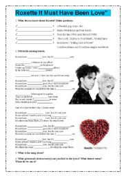 Roxette It Must Have Been Love Sheet Music 14