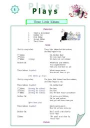 English Worksheets: Plays for kids