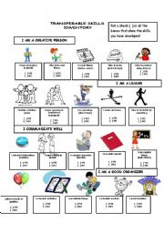 English Worksheets: Transferable Skills (2)