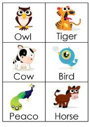 English Worksheets: Animals (5)