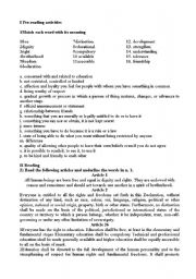 Recipe for a Human Being Worksheet - ThinkKind Australia