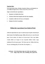 English Worksheets: Saint Patricks Day worksheet