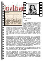 English Worksheets: Gone with the wind part3