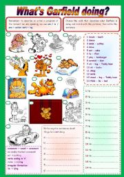All these worksheets and activities for teaching present continuous