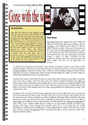 English Worksheets: gone with the wind part 4