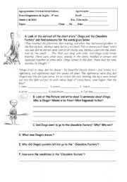 English Worksheets: Chaga and the Chocolate factory
