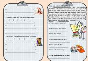 English Worksheets: wh- questions