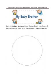 English Worksheets: Baby Brother