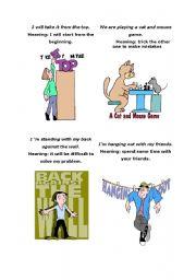 English Worksheets: Sayings 2