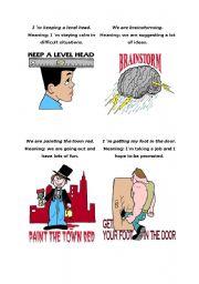English Worksheets: Sayings 3