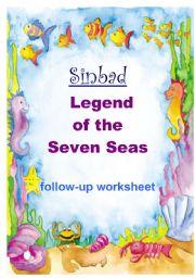 English Worksheets: SINBAD - Legend of the 7 Seas