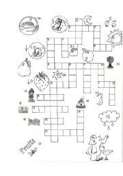 English Worksheets: Crossword