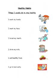 healthy habits level elementary age 5 7 downloads 11 healthy