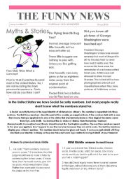 English Worksheets: 11 Funny News issue