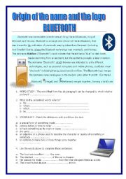 English Worksheets: BLUETOOTH