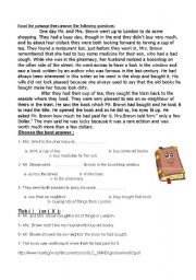 English Worksheets: The Valuable book