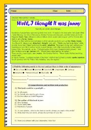 English Worksheets: YOUR LIFE IN SIX WORDS - Intermediate- advanced