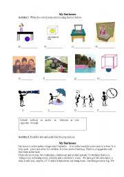 English Worksheets: Myflat