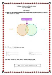 Sideways Stories Character Sheet worksheet - Free ESL printable ...