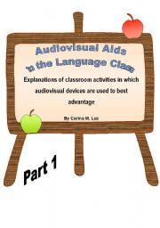 English Worksheets: Audiovisual Aids in the Language Class - Part 1