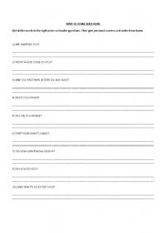 English Worksheets: HOW TO FORM QUESTIONS