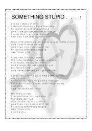 Something stupid frank & nancy sinatra (with lyrics). Wmv youtube.