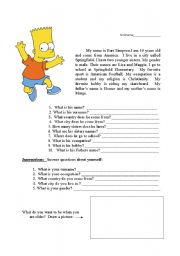 English worksheets: personal information worksheets, page 32