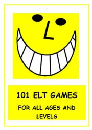 English Worksheets: 101 ELT GAMES!  15 pages of communicative activity ideas!