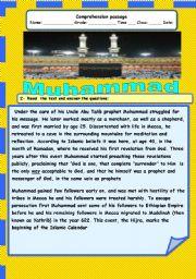 English Worksheets: MUhammad